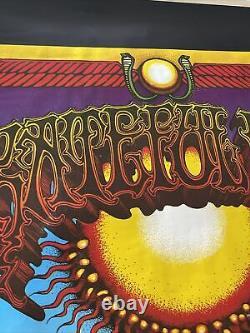 1969 GRATEFUL DEAD RICK GRIFFIN AOXOMOXOA Subway Poster 38 X 55 Rare