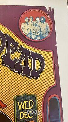 1971 GARY GRIMSHAW Vintage Grateful Dead psychedelic art print poster rare music