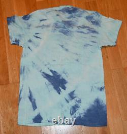 1976 GRATEFUL DEAD vtg rare concert tour tie-dye tee t-shirt (M) SYF 70's Rock