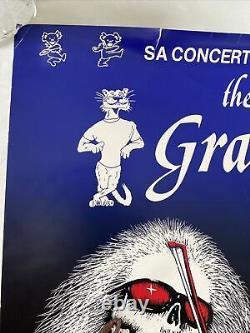 1983 Original Grateful Dead Poster University Vermont SA Concerts rare VT 4/13