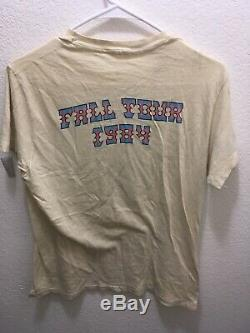 1984 Grateful Dead Shirt M/L FALL TOUR LUNQUIST EAGLE/BOLT RARE