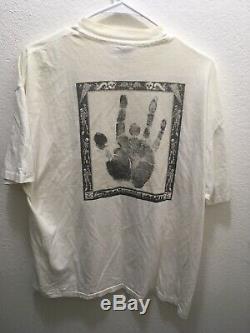 1988 Vintage Grateful Dead Shirt L/XL NYE BILL GRAHAM/HAND OF JERRY ULTRA RARE