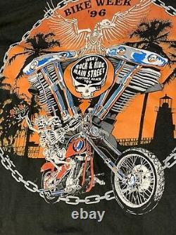 1996 Bike Week X Grateful Dead Longsleeve RARER THAN RARE