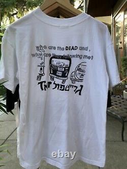 90s Grateful Dead Tour Shirt XL Vintage Jerusalem Concert Rare Promo Vtg Band