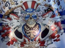 AJ Masthay Grateful Dead Metallic Foil BNG US Blues Company EMEK Bottleneck Rare