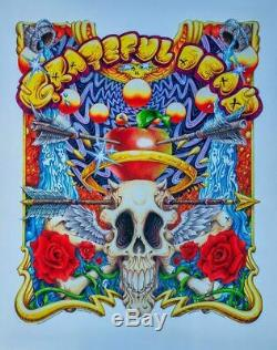 AJ Masthay St. Stephen Metallic Foil Variant Grateful Dead S/N#/200 RARE
