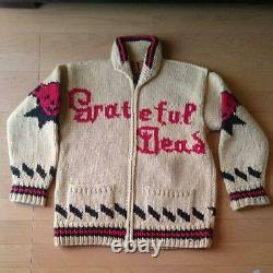Canadian Sweater Dead Bear Limited Cowichan Sweater Grateful Dead Rare Fedex