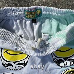 Chinatown Market Grateful Dead Smiley Stealie RARE Shorts Size Medium