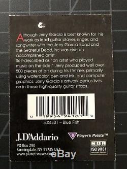 EC Jerry Garcia Acoustic Guitar Strap High Quality HTF RARE The Grateful Dead 02