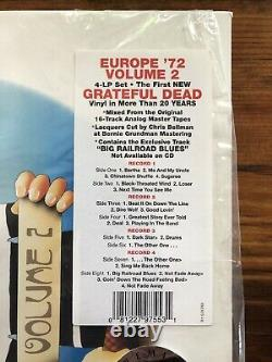Europe'72 Vol. 2 by Grateful Dead 3 LP 2011, Rhino OUT OF PRINT AND VERY RARE