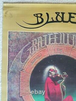 FREE SHIPPING Grateful Dead rare giant 24 x 36 Blues for Allah Promo Poster