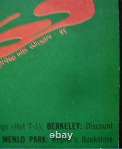 GRATEFUL DEAD DOORS BG 45 OP2 FILLMORE concert poster BILL GRAHAM 1966 RARE