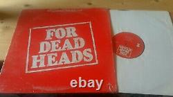 GRATEFUL DEAD LP FOR DEAD HEADS rare Arista promo in shrink near mint Garcia