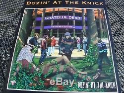 GRATEFUL DEAD Vintage Promo Poster Arista Records RARE Psychedelic-DOUBLE SIDED