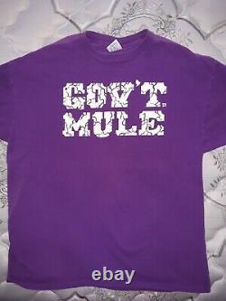 Govt Mule 1995 shirt rare vintage Allman Brothers Grateful Dead XL