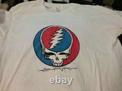 Grateful Dead 1976 Steal Your Face 1 Stich Shirt XXL Nmint Rare Clean Htf Vtg