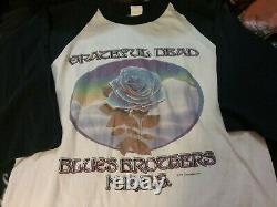 Grateful Dead 1978 Nye Winterland Raglan Shirt S Rare Impossible Clean Htf Vtg