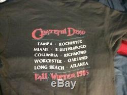 Grateful Dead 1985 Fall Winter Tour 1 Stich Shirt L Nmint Rare Clean Vtg Htf