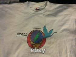 Grateful Dead 1987 Shoreline Staff Shirt L Vg Rare Clean Vtg Htf