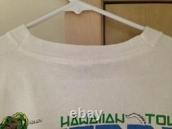 Grateful Dead 1990 GDM JERRY GARCIA BAND Hawaii Vintage Shirt Rare XL Reonegro