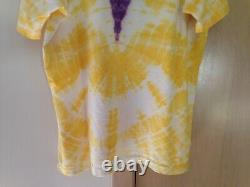 Grateful Dead 1990 GDM Vintage Shirt Steal Your Face Waterfall Rose RARE Brockum