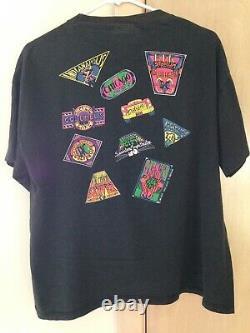 Grateful Dead 1991 GDM Vintage Shirt SUMMER TOUR Giants Stadium Deer Creek RARE