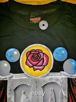 Grateful Dead 1993 Spring Tour T-Shirt Stone Roses Rare Unworn Brockum XL