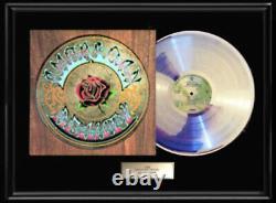 Grateful Dead American Beauty White Gold Silver Platinum Tone Record Lp Rare