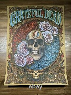 Grateful Dead Art Print Poster By N. C. Winters Rare Printers Proof 8/13 BNG