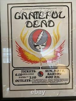 Grateful Dead Barton Hall Poster Artwork Mabrey Rare 844/1000 Arc Rock