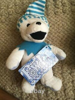 Grateful Dead Bear Plush Liquid Blue Lot Of 9 rare hard to find all with tags