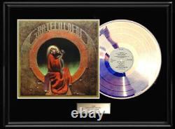 Grateful Dead Blues For Allah White Gold Silver Platinum Tone Record Lp Rare