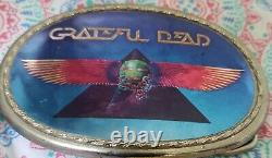 Grateful Dead Buckle from 1977-78. Art made by KELLY. This is a very rare buckle