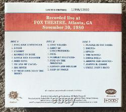 Grateful Dead CD DAVES PICKS Volume 8 RARE Fox Theater 1980 OOP Perfect + BONUS