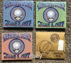 Grateful Dead CD WINTERLAND 1977 Box Set with RARE BONUS DISC MINT