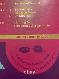 Grateful Dead Cornell 5/8/77 5 LP Set Vinyl VERY RARE 1st Pressing 180g Grail