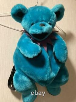 Grateful Dead Dancing Bear Backpack Green Rare Animal Plush doll