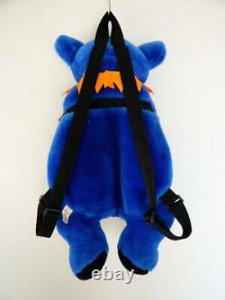 Grateful Dead Dancing Bear Backpack loyal blue Rare Animal Plush Toys Doll