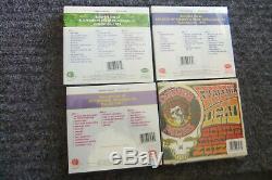 Grateful Dead Dave's Picks 2012 Complete Dave's 1- 4 Sealed Set Oop Super Rare