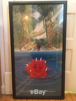 Grateful Dead'Deadicated' Print / Hand-Signed Mikio Kennedy Rare Custom Poster