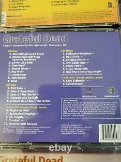 Grateful Dead Dick's Picks Volumes 31, 32, 33, 34, 35 & 36 Rare 21 Discs MINT