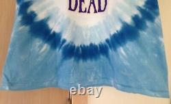 Grateful Dead Europe Tour 1981 STANLEY MOUSE Vintage Shirt Liquid Blue Rare NOS