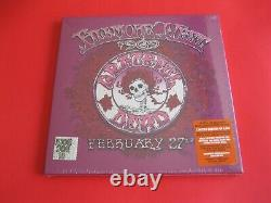 Grateful Dead Fillmore West 1969 FEB 27 RARE 4LP Boxset SEALED RSD withStickers