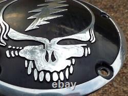 Grateful Dead Harley Davidson 5-Hole Derby Cover Pan Galactic Sculpture RARE