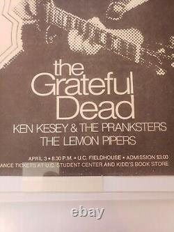 Grateful Dead/ Ken Kesey & The Marry Pranksters very rare to see on same ad