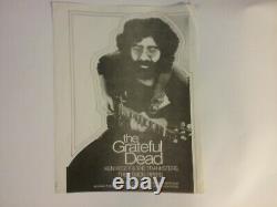 Grateful Dead Kesey Pranksters Apr 3 1970 Cincy Flyer Nmint Crease Writing Rare