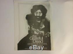 Grateful Dead Kesey Pranksters Apr 3 1970 Cincy Flyer Nmint Crease Writing Rare