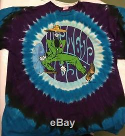 Grateful Dead Liquid Blue Gangster T Shirt Rare Original 2003