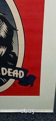 Grateful Dead Music Poster Raven 1973 Rick Griffin Very Rare
