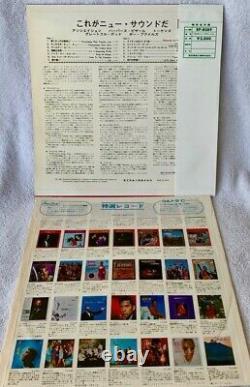 Grateful Dead. New Sound Group Festival Ultra-rare Japan Red Wax Test Press Obi